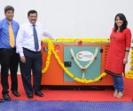 Caption- Mr. Gordon Dsouza, General Manager, Cooper Corporation Pvt and  Manisha Cooper, Cooper Corporation at the launch of CPCB II compliant generators