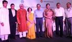 Phool Khil Jayenge_Song launch_19 August_Left to right_Sonu Nigam_Javed Akhtar_Bachi Karkaria_Dr HarshVardhan_Shabana Azmi_Lov Verma_CK Mishra