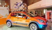 Caption- Fiat Avventura - Contemporary Urban Vehicle in Bangalore