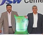Left - Mr. Anil Kumar Pillai, CEO - JSW  & Mr. Pankaj Kulkarni, Director - JSW Cement Ltd Cement Ltd
