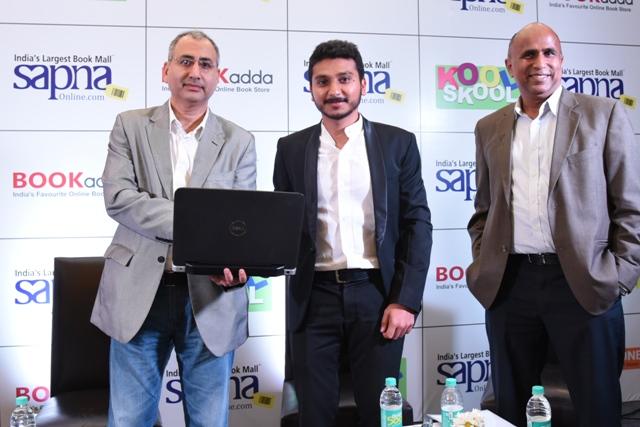 Mr. Nijesh Shah, Founder & CEO Sapna Infoway, Hemant Kohli, co-founder and CEO of Ishita technology, K Ganesh internet entrepreneur announces Sapna Infoway's  acquistion of Ishita technology