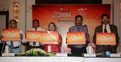 L to Right - Mr Mahesh Kavathekar, Vice President Alkem, Dr. Uma Seshagiri President IMA Bangalore Branch, Dr Ramamurthy Bingi Consultant KIMS Hospital, Dr V Channa