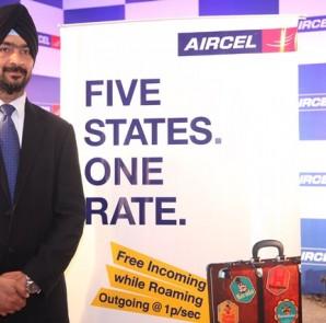 AIRCEL Press Conference Addressed by Mr. Kanwarbir Singh