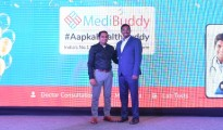 Mr. Satish Kannan & Mr. Enbasekar at MediBuddy Press Conference - 2