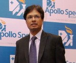 Sudhir Diggikar, Director (Secondary Care), Apollo Health and Lifestyle Ltd.  at the launch of Apollo Spectra Hospitals