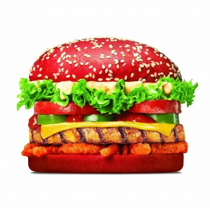Angry Whopper Chicken Red Bun