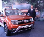 The New Duster introduced by Mr. Rafael Treguer, Vice President, Sales & Marketing, Renault India .JPG