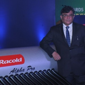 Mr. V Ramnath, Managing Director, Racold Thermo Pvt. Ltd. at the Launch in Bangalore
