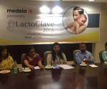 Panelists from Fortis Hospitals at the  2nd Edition of LactoClave2016 organised by Medela India