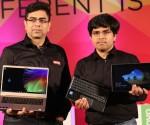 Amit Chatrath (left)-Consumer Notebook  Category Lead, Lenovo AsiaPacifi...