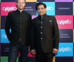 Francois Charles, President of OnMobile with Rajiv Pancholy, CEO of Onmobile Global Limited