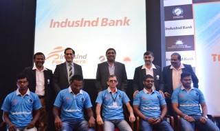 CABI & IndusInd Bank with Indian Blind Cricket team