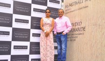 Mithali Raj,  Captain of the Indian Women's Cricket Team with  Mr. Govind Shrikhande, Customer Care Associate & Managing Director, Shoppers Stop Ltd.