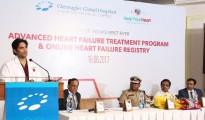 From left - Dr Sandep Attawar Dr R Ravikumar Mr Anand Mohan IPS Mr Subburaj Dr Ramaswamy
