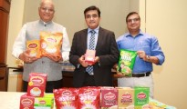Mr. Rasesh Desai Managing Director Mr Parag Desai Executive Director and Vijay Lahoti national head of sales Wagh Bakri