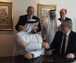 Signing ceremony between IHG and API Hotels & Resorts for Crowne Plaza® Dubai Business Bay and InterContinental Residence Suites Dubai Business Bay