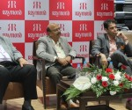 Ram Bhatnagar (Vice President, Sales,  Raymond), Mohit dhanjal (Director,Retail, Raymond, )Gautam Bhobe (General manager)