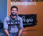 Sandalwood actor Rakshit Shetty launches  People's new store at Nagarbhavi