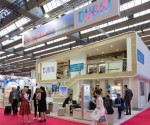 The Dubai Business Events pavilion at IMEX in Frankfurt, May 2017