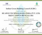CII IGBC (LEED India Core New Construction) Certificate