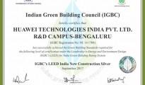 CII IGBC (LEED India Core New Construction) Certificate
