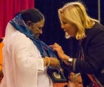 Regional Government Award in France for Mata Amritanandamayi