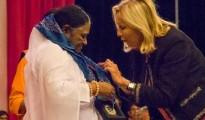 Regional Government Award in France for Mata Amritanandamayi