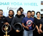Mr Puneeth Rajkumar launched the Akshar  Yoga wheel in Banglore today
