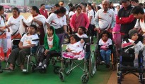 Doctors, patients suffering from rare diseases participate in Walkathon Racefor7 held in Bangalore on Sunday (6)