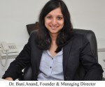 Dr. Bani Anand, Founder & Managing Director Hairline International Hair & Skin Clinic