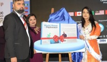 The First lady, Smt. Amruta Fadnavis launched a Book 'The World Peace & Diplomacy'