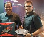 s Country Head - Marthesh Nagendra and Technical Head of India and SAARC - Manab Mallick officially lauch Nighthawk Pro Gaming XR500!
