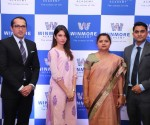 Left to Right Mr. Ashish R. Puravankara,  MD, Puravankara Limited, Ms. Amanda Puravankara, Director, Puravankara Limited,  Mrs. Hyacinth Emanuel, Director, St. Andrews School, Mr. Ashish Emanuel, Director,  St. And