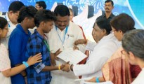 2017-10-09--Tribal Children Receive E Literacy Certificates from Tribal ...