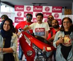 From L to RoshiniMisbah & Shefali Bajaj Women Riders who Participate for Girl Child Education initiative