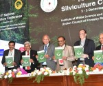 3-From Right -Mr.Sh. Kamal Bali, MD, Volvo Trucks India,Dr. Suresh Chandra Gairola, Director General, ICFRE, Dehra Dun,Sh. Siddhanta Das   (Director General of Forest and Special Secretary, MoEF&CC, Government of I