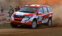Gaurav Gill in action on Friday in the Coffee Day India Rally (Nov 30)