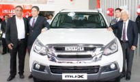 Management team from Isuzu Motors India and Trident ISUZU launched the new ISUZU mu-X SUV in Bengaluru city today on the occasion of new 3S facility inauguration.