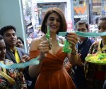 Renowned Actress Shraddha Das Cutting Ribbon