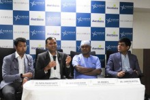 L-R Dr Partha  Pradeep Shetty,Dr. Satish Kumar MM, Dr. Mohan K, and Dr Somesh Mittal