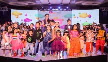 Mini Fashionistas at the Bangalore Times Fashion Week for Hopscotch India
