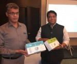 Left to Right - Mr Radheshyam Naik, MD HCG Hospital, Bengaluru & Mr Raktim Chattopadhyay, Founder & CEO