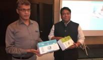 Left to Right - Mr Radheshyam Naik, MD HCG Hospital, Bengaluru & Mr Raktim Chattopadhyay, Founder & CEO