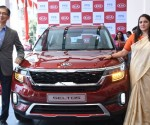 (L-R) Mr.Jin Ho Park Regional Manager, KIA Motors India,  Sandhya Rai COO, PPS KIA at the unveiling of the Kia Seltos