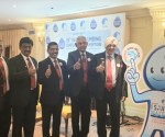 L to R- Unveiling of mascot by Amit Gupta, Treasurer, IPA, BLR Chapter; Balakrishna Mehta, Vice Chairman, IPA BLR Chapter; BK Prasad, NEC Member, IPA, BLR Chapter; BO Prasanna Kumar, Chairman, IPA BLR Chapter; CS Gupta, National Secretary, IPA; Gurmit Singh, National President, IPA and Krishna Prasad, Exe Committee Member, IPA BLR Chapter