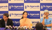 Pics 002- Dr Ashar Agarwal,Director, Ashika Ranganath & Dr Sreepathi, Head -Clinical Services
