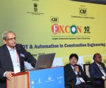 Mr Kris Gopalakrishnan, Chair, CII AI Forum & Chairman, Axilor Ventures at the conference in EXCON 2019 on _Artificial Intelligence IOT & Automation_ held at Bengaluru today.