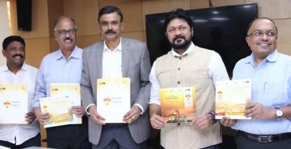 Left to Right - Mr. Himantharaju, Mr. Vidyashankar, Mr. Siddharamappa, Mr. Suneel Puranik and Mr. Dinesh HB