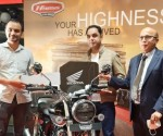 ness CB350 to customer at Honda BigWing in Bengaluru
