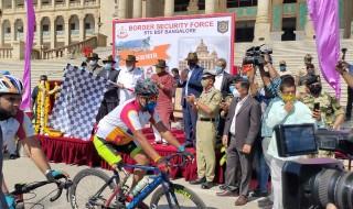 Karnataka CM BS Yediyurappa flags off the Infinity Ride 2020 as riders resume their journey from Banglore
